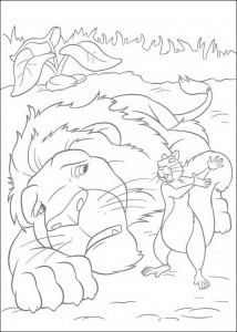 coloring page The Wild (14)