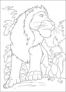 coloring page The Wild (15)