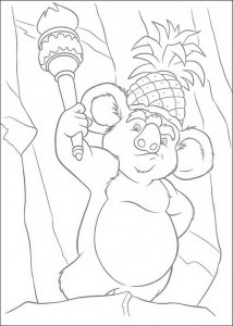 coloring page The Wild (17)