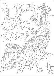 coloring page The Wild (2)