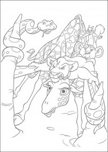 coloring page The Wild (21)