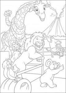coloring page The Wild (25)