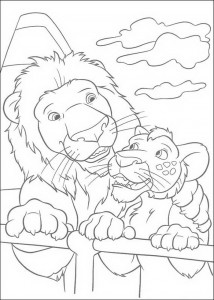 coloring page The Wild (26)