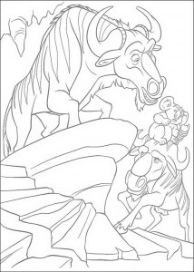 coloring page The Wild (3)
