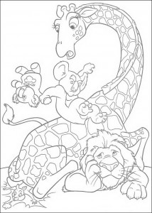 coloring page The Wild (4)