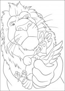 coloring page The Wild (5)