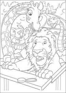 coloring page The Wild (6)