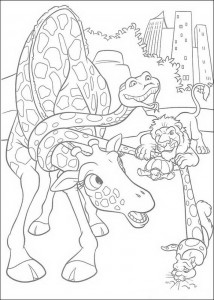 coloring page The Wild (7)