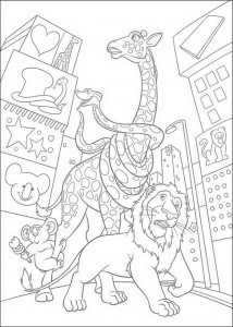 coloring page The Wild (8)