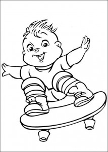 coloring page Theodore