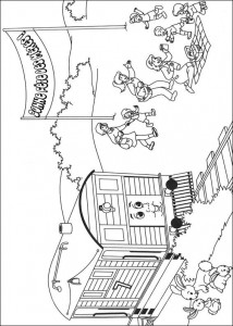 Thomas the train coloring page (32)