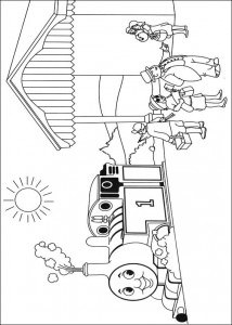 Thomas the train coloring page (40)