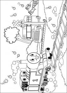 kleurplaat Thomas de trein (46)