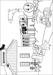 Thomas the train coloring page (48)