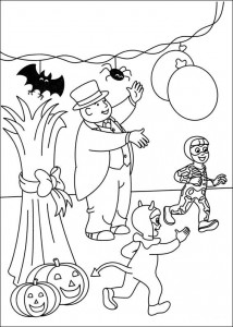 Thomas the train coloring page (51)
