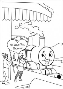 Thomas the train coloring page (55)