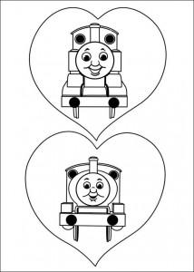 Thomas tåget målarbok