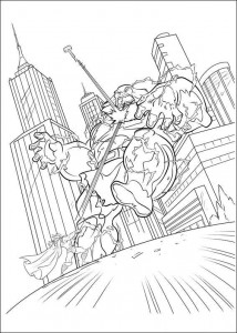 coloring page Thor (1)