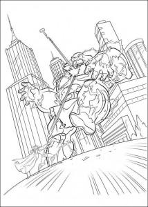 kleurplaat Thor (1)