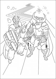 coloring page Thor (13)