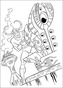 coloring page Thor (14)
