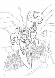 coloring page Thor (16)