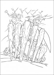 coloring page Thor (17)