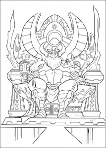 coloring page Thor (18)