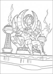 kleurplaat Thor (19)