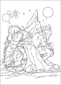 coloring page Thor (21)