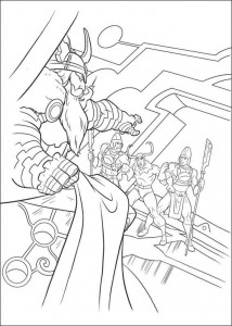 coloring page Thor (22)