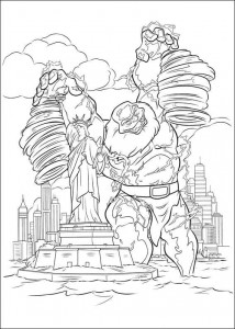 coloring page Thor (28)