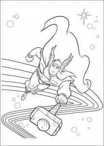 coloring page Thor (29)