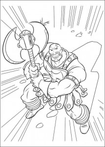 coloring page Thor (33)