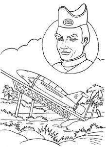 coloring page Thunderbids are go (10)