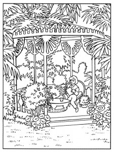 coloring page Thunderbids are go (4)