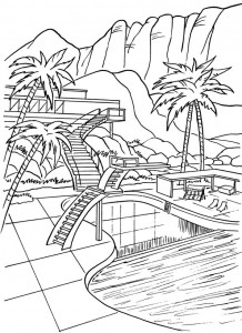 coloring page Thunderbids are go