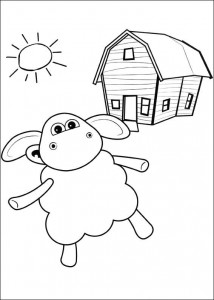 coloring page Timmy Time (1)