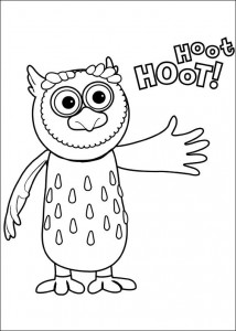 coloring page Timmy Time (11)