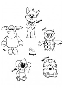 coloring page Timmy Time (12)