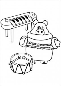 coloring page Timmy Time (16)