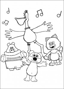 coloring page Timmy Time (17)