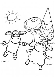 coloring page Timmy Time (19)