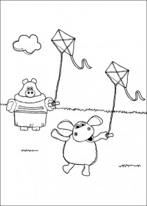 coloring page Timmy Time (24)
