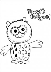 coloring page Timmy Time (25)