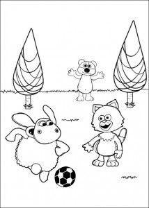 coloring page Timmy Time (27)