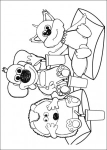 coloring page Timmy Time (28)