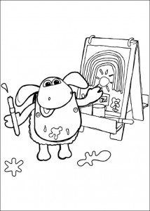 coloring page Timmy Time (29)