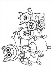 coloring page Timmy Time (3)