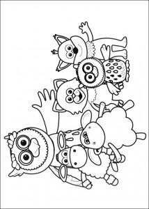 målarbok Timmy Time (3)